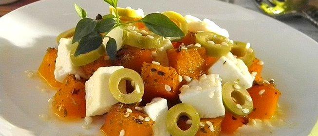 вкусные салаты брынзой рецепты фото
