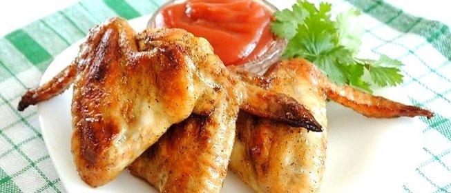 Крылышки с подливкой рецепт пошагово