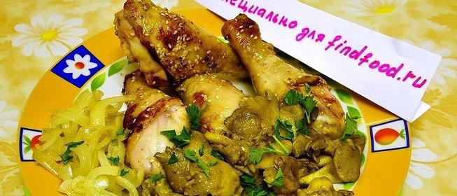 куриные ножки панировке рецепт фото