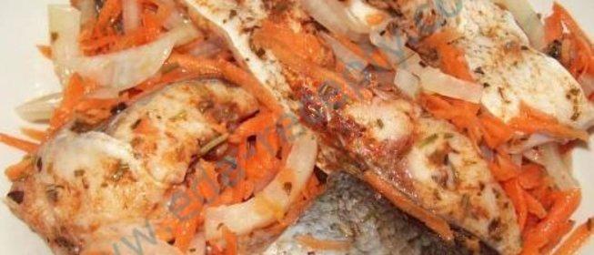пятиминутка из рыбы рецепт