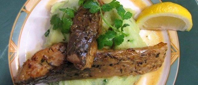 Картошка с маслятами в духовке рецепт пошагово