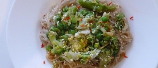 Вок рис рецепт с пошагово