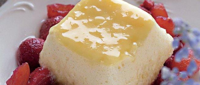 Суфле ванильное рецепт с фото