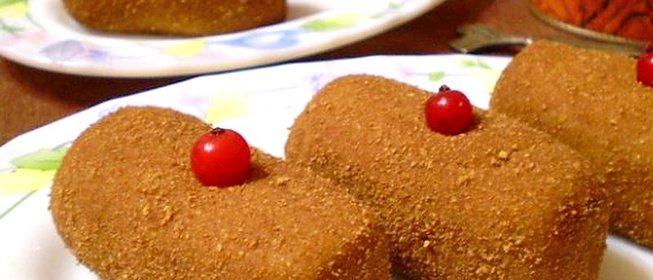 Пирожное картошка из печенья мария