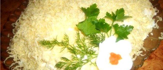 Пошаговый рецепт грибного салата