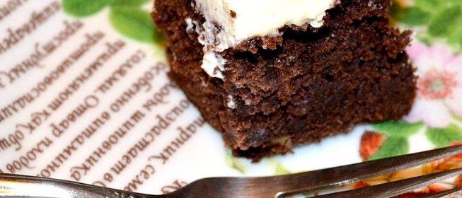 Брауни с какао пошаговый рецепт с