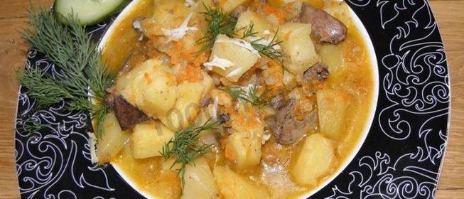 рецепт картошки с консервой в духовке