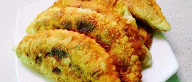 Чебуреки рецепт с пошаговый хрустящие на воде