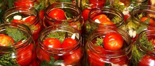 Рецепты для маринования помидоров на зиму