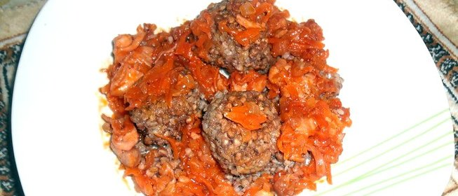 Гречка с говядиной рецепт с фото пошагово в горшочках