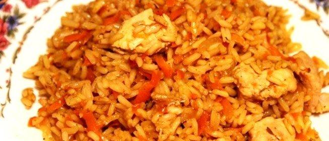 Плов с курицей рассыпчатый рецепт с фото пошагово