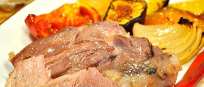 Рецепт свинина на вертеле в духовке