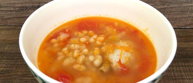Суп фасолевый пошаговый рецепт с фото