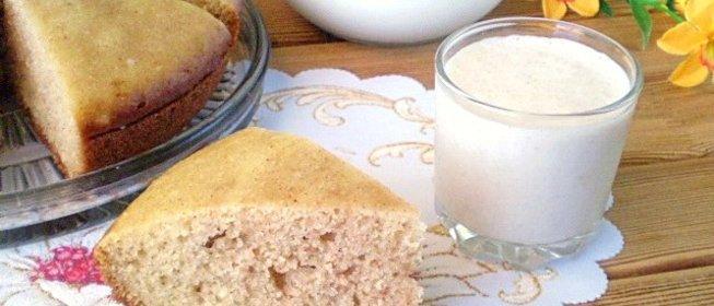 Манник на кефире без муки пошаговый рецепт с в духовке