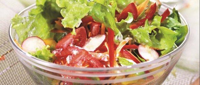 Салат летний рецепт с фото пошаговый