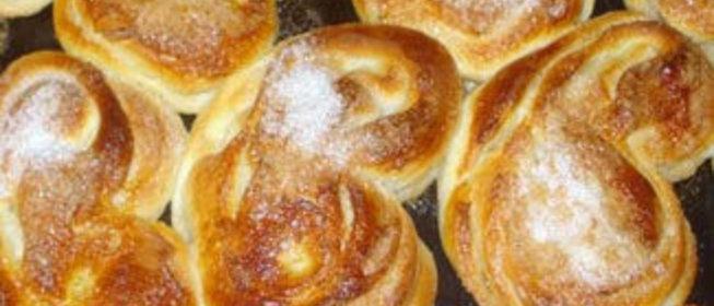 Простые булочки с сахаром рецепт с фото