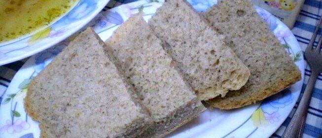 Хлеб льняной рецепт с пошагово