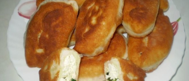 Пошаговый рецепт пирожков на сковороде с фото