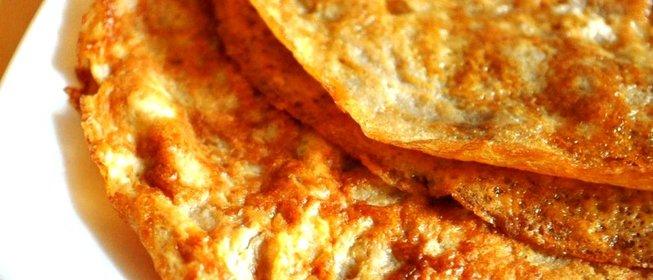 Яичные блинчики рецепт с фото пошагово