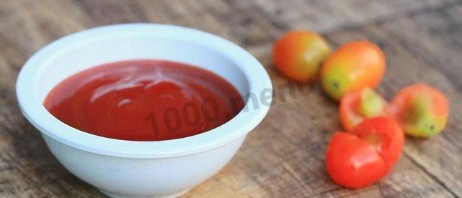 Домашний кетчуп рецепт пошагово с фото