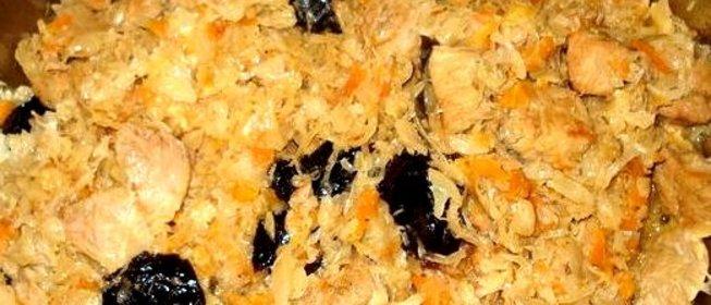 Рецепт бигуса с пошаговым
