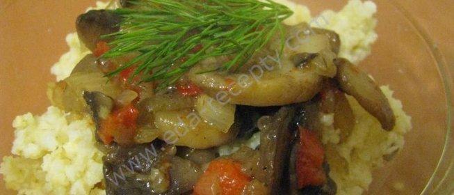 Блюда из пшена постные
