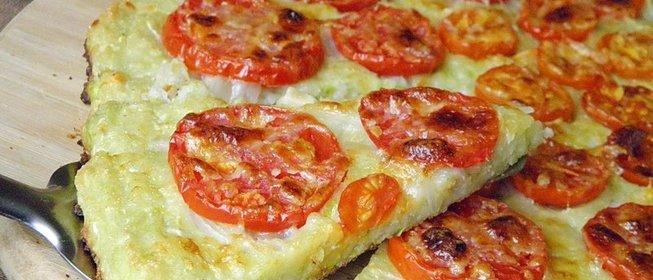 Пицца из кабачков пошаговый рецепт с фото