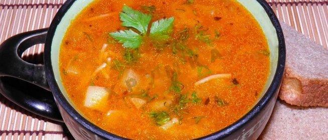 Суп с макаронами в мультиварке пошаговый рецепт с фото