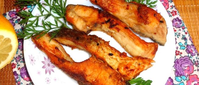 Рыба жареная рецепт с фото пошагово