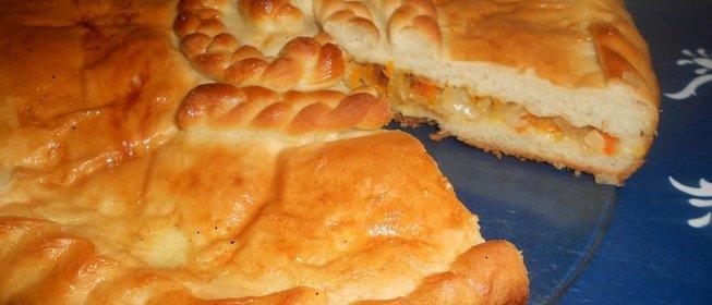 Как сделает пирог с капустой 257