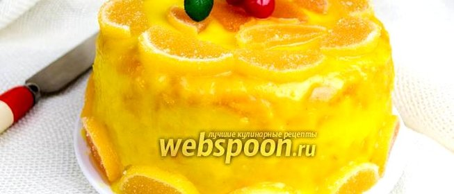 Бисквит с лимоном рецепт с фото