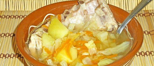 как приготовить вкусно щи из свежей капусты