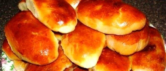Пирожки духовые с повидлом рецепт пошагово