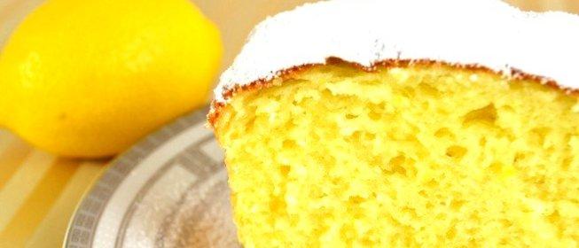 Рецепт лимонного кекса простой