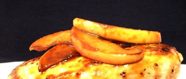 Курица с яблоками в духовке  пошаговый рецепт с фото на