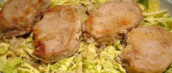 Тушеное мясо с капустой и картошкой в мультиварке рецепты с пошагово в
