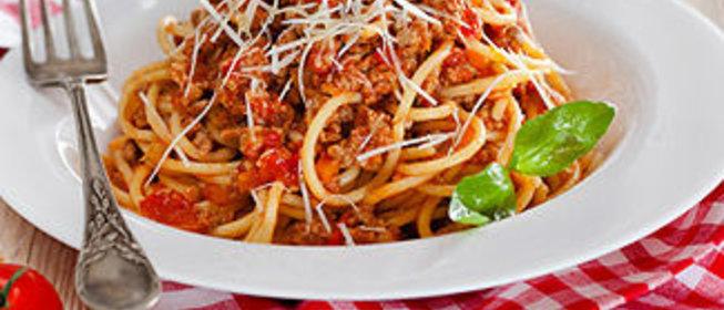 Спагетти болоньезе простой