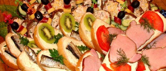 Рецепты холодные бутерброды с фото