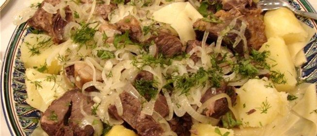Рецепт бешбармак с пошаговым