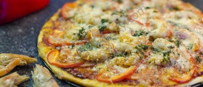 Пицца с креветками рецепт рецепт