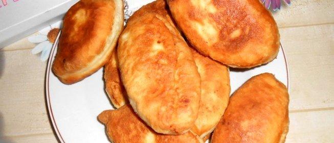 Пирожки с картошкой пошагово