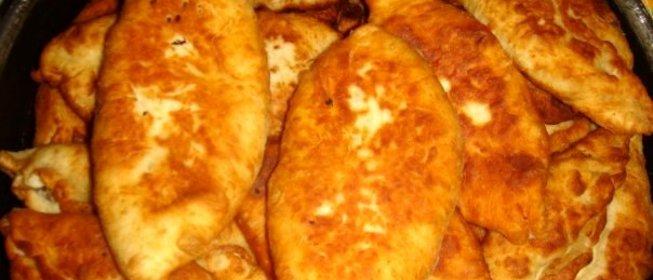 Рецепт пирожки с мясом жареные