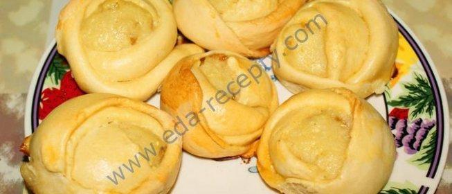 Булочки розочки пошаговый рецепт с фото