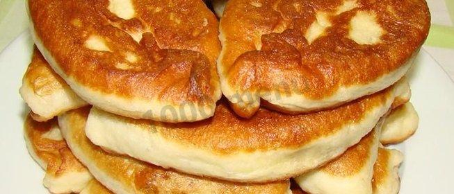 Пирожки жареные домашние в