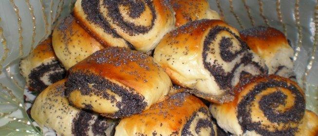 Домашние булочки маком рецепт фото