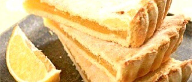 Нежный лимонный пирог рецепт с фото