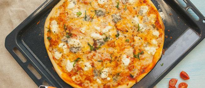 Рецепт вкусной итальянской пиццы в домашних условиях пошагово