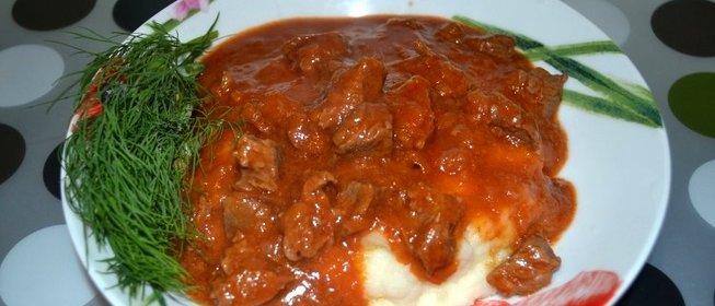 Рецепт в мультиварке с мясо пошаговый