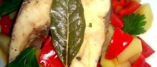 Рыба с овощами рецепты пошагово