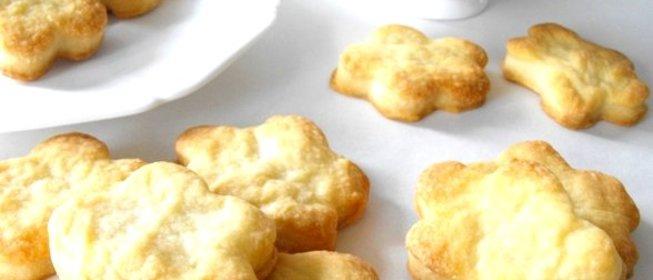 Тесто для печенья на сметане с фото
